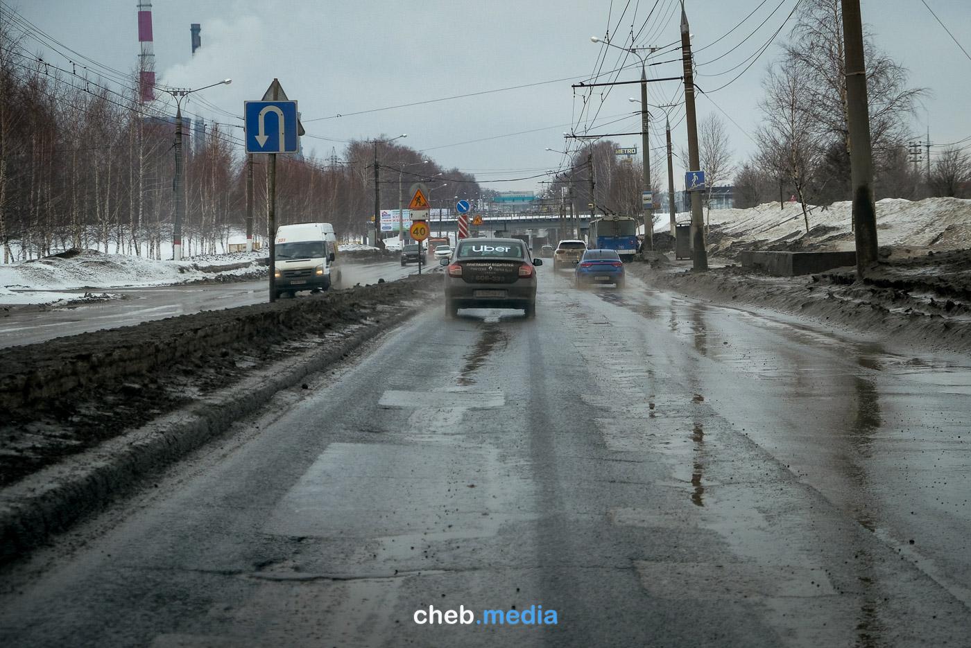 Марпосадское шоссе, весна этого года.
