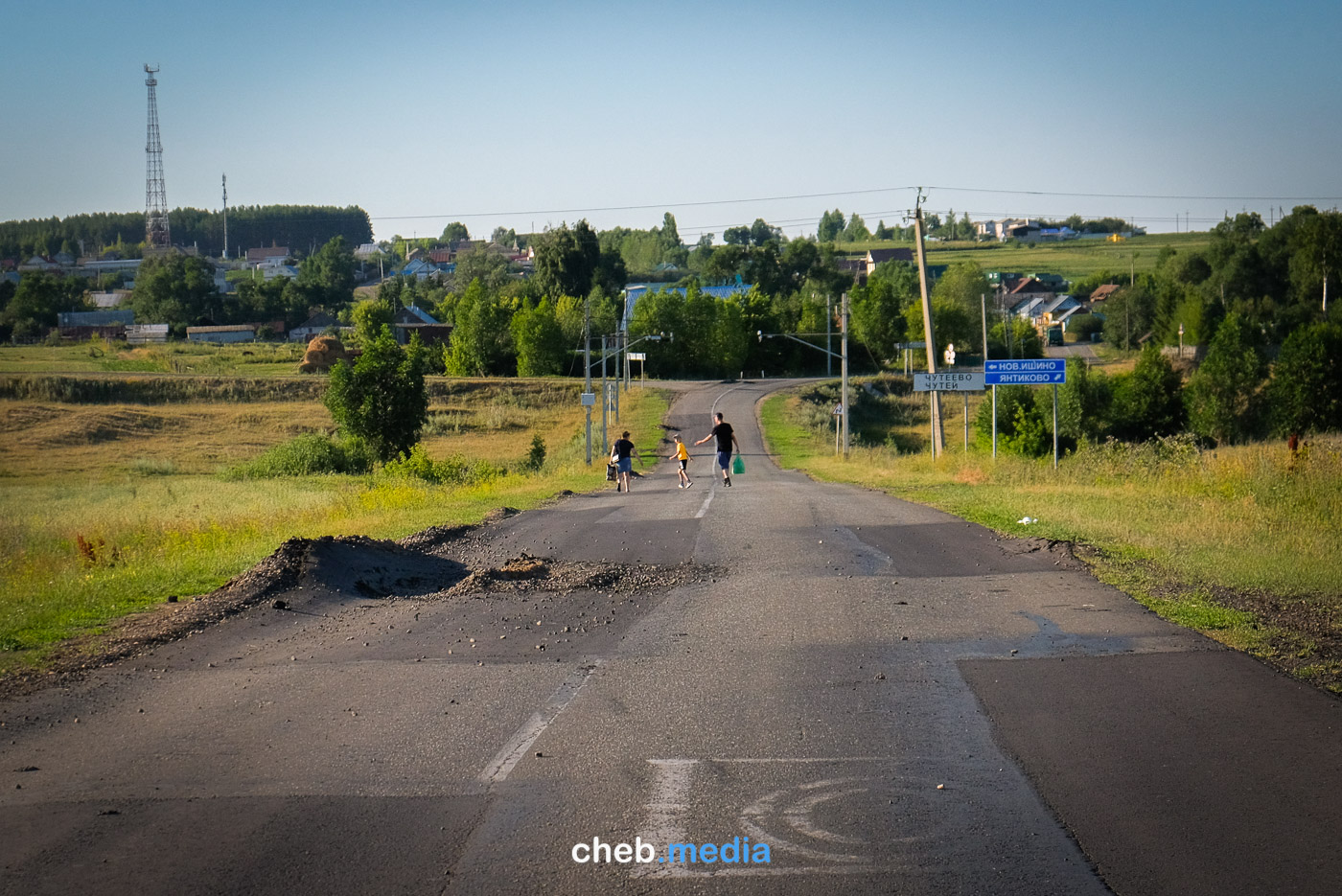 Янтиковский район, село Чутеево