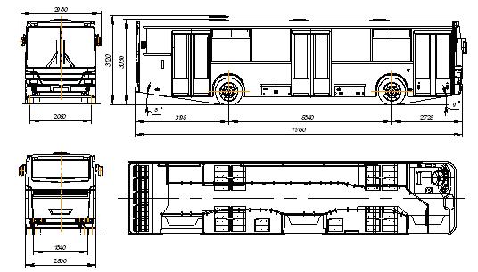 Автобусы марки НЕФАЗ имеют надежную тормозную систему и мощный двигатель, а следовательно,отвечают всем требованиям.