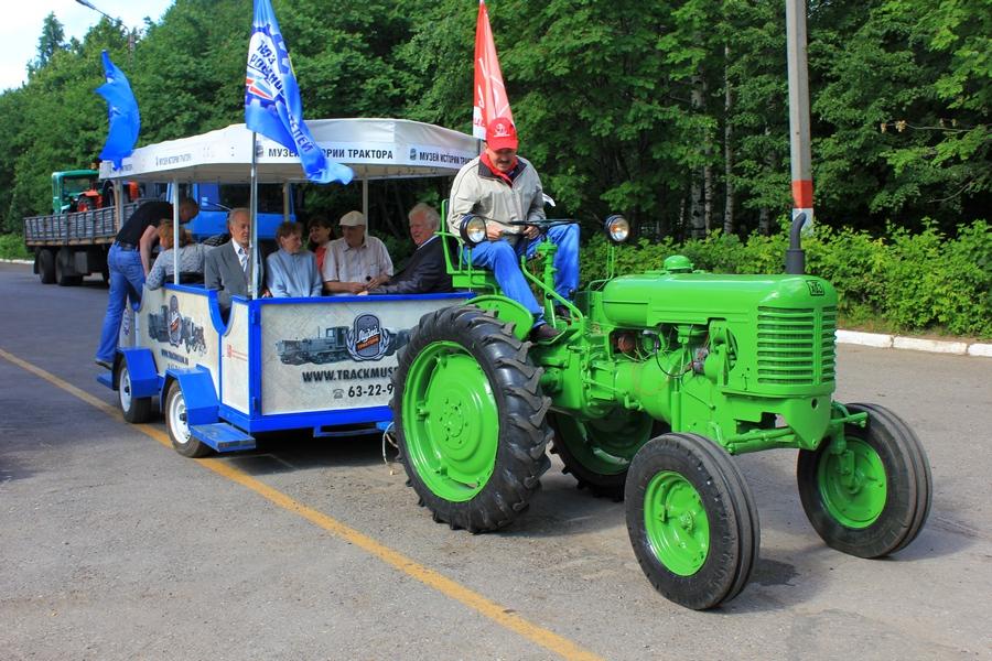 ...что 9 июня в 9.30 от музея стартует двухдневный тракторный пробег по маршруту: Чебоксары - Кугеси - Цивильск...