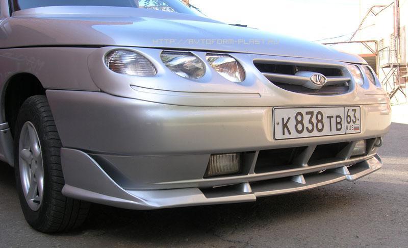 Фото №9 - с чего можно сделать губу на ВАЗ 2110