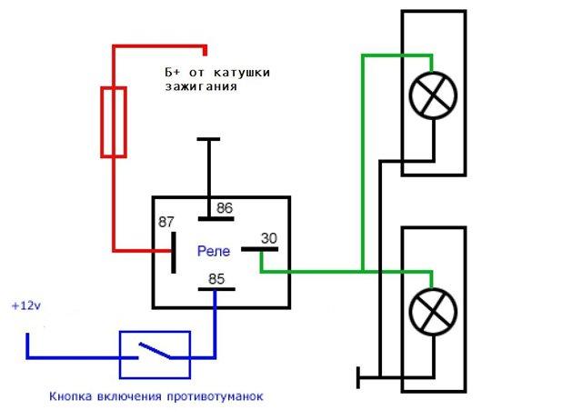 Схемы аккумуляторов схема