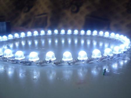 Ангельские глазки из светодиодной ленты своими руками на ваз 2106 5