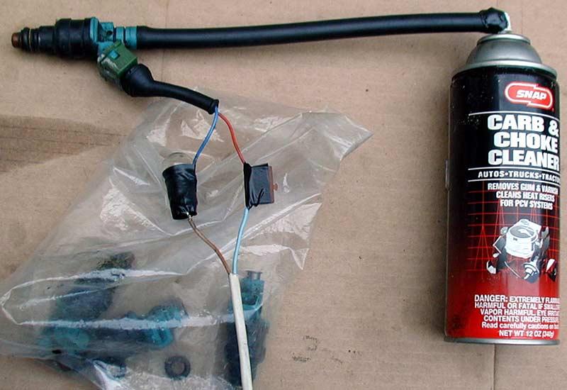 Очистка инжектора своими руками фото