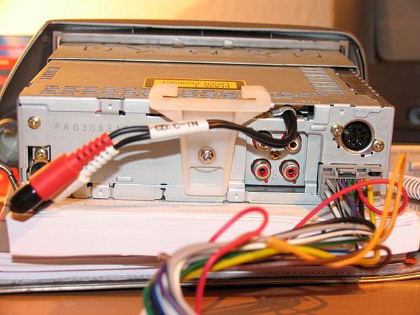 Модель аппаратуры: panasonic cq-rd40/45len