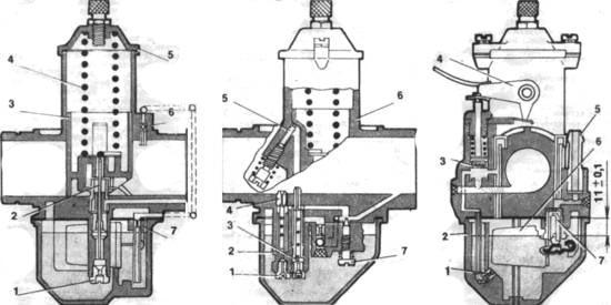 Устройство карбюратора мотоцикла Jawa - 638.